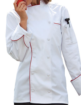 UN-0432-Uncommon Threads Women's Murano Chef Coat