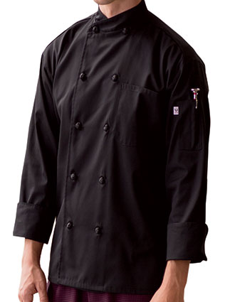 UN-0435-Unisex Soho 10 Button Chef Coat