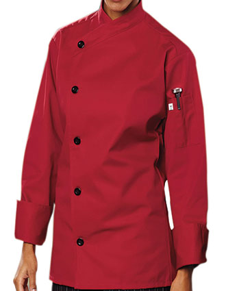UN-0482-Uncommon Threads Men's No-Pocket Rio Chef Coat