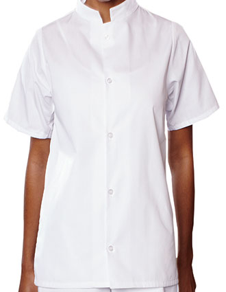 UN-0921-Uncommon Threads Women's Mandarin Collar Shirt