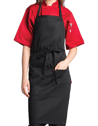 UN-3018-Uncommon Threads Unisex Adjustable Butcher Bib Apron