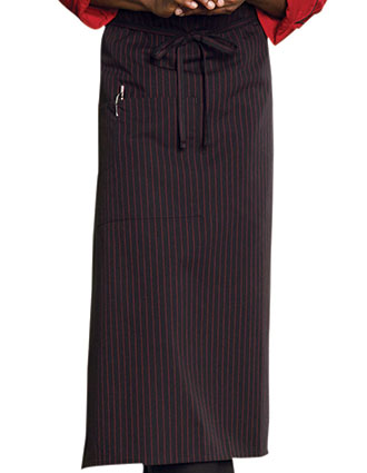 UN-3052-Uncommon Threads Unisex One-pocket Full Bistro Apron