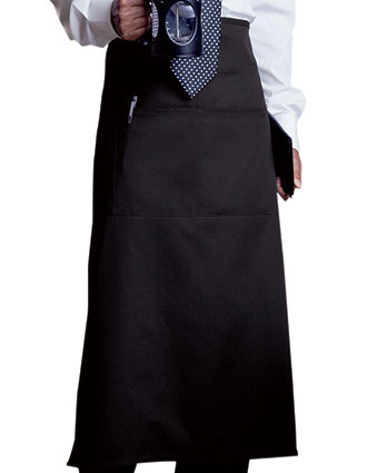 UN-3101-Unisex Two-Section Pocket Bistro Apron