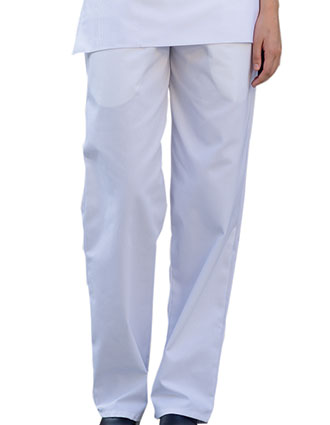 UN-4000-Uncommon Threads Women's Elastic Waist Classic Baggy Chef Pant