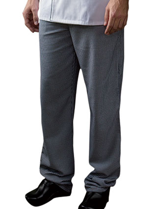 UN-4020-Unisex elastic Traditional Chef Pant