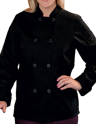 WH-18026-Five Star Ladies 8 Button Chef Jacket