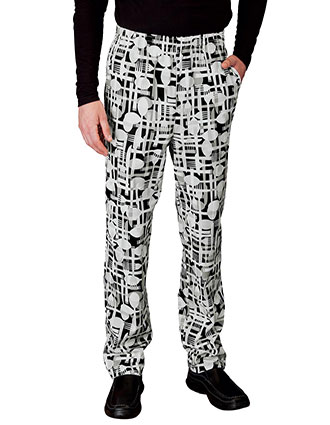 WH-18100-Unisex Pull-On Baggy Pant