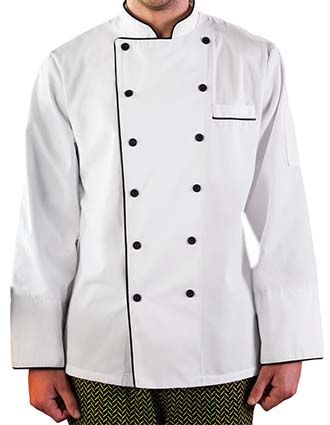 WH-18120-Five Star Unisex Executive Chef Coat