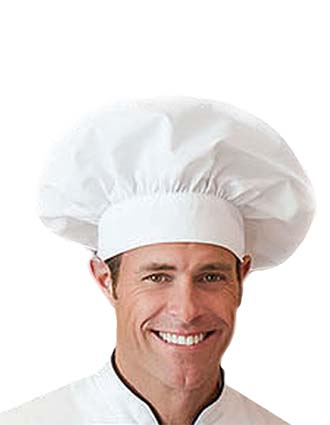 WH-18201-Five Star Unisex Chef's Hat