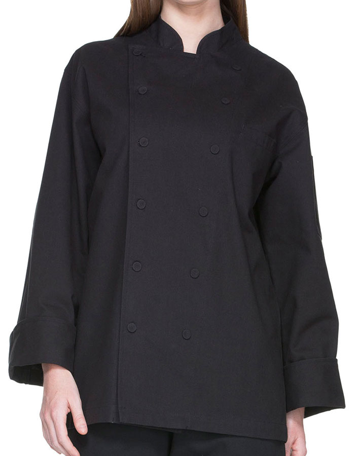 92a46495df9 Dickies Chef Unisex Fluid Barrier Executive Chef Coat Style DI-DC41B